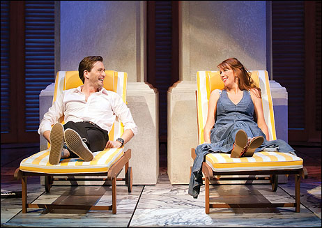 David Tennant and Catherine Tate in the Wyndham's Theatre production.