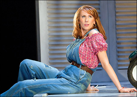 Catherine Tate in the Wyndham's Theatre production.