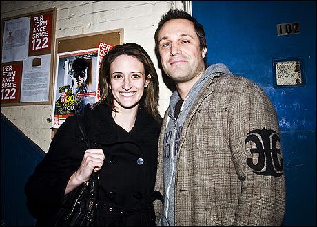 Jessica Cummings and Ashlin Halfnight