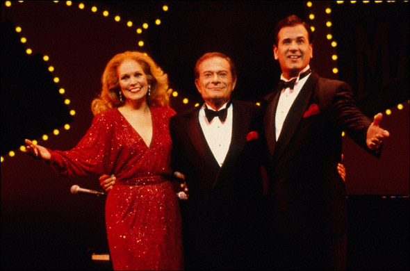 Florence Lacey, Jerry Herman and Lee Roy Reams
