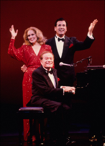 Jerry Herman and Lee Roy Reams