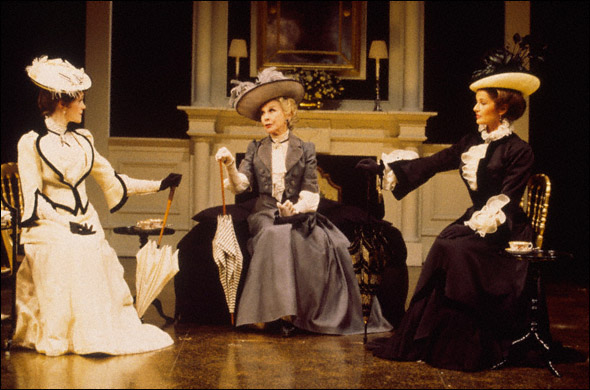 Madeleine Potter, Kim Hunter, and Stephanie Beacham