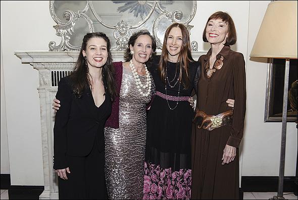 Maude Maggert, Andrea Marcovicci, Lauren Fox and Karen Akers