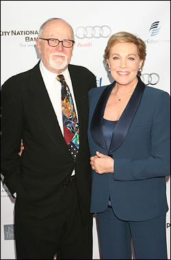 Gilbert Cates and Julie Andrews