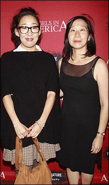Sandra Oh and Diana Son