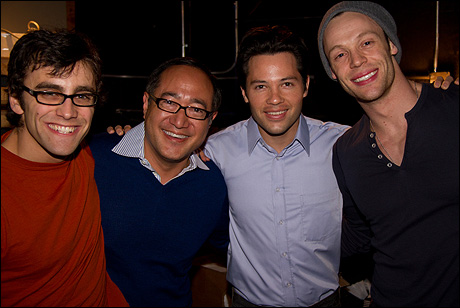 Michael Mindlin, Alan Muraoka, Jason Tam and Ryan Watkinson
