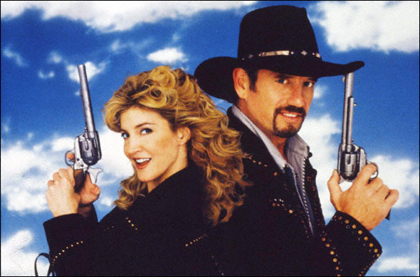 Crystal Bernard and Tom Wopat in a promotional shot
