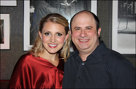Annaleigh Ashford and James Sampliner
