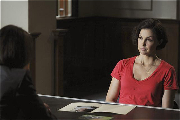 """Ashley Judd, Outstanding Lead Actress in a Mini Series or Movie Nominee as """"Rebecca Winstone"""" in Missing."""