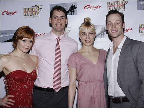 Megan Sikora, Barrett Martin, Samantha Zack and Ryan Watkinson