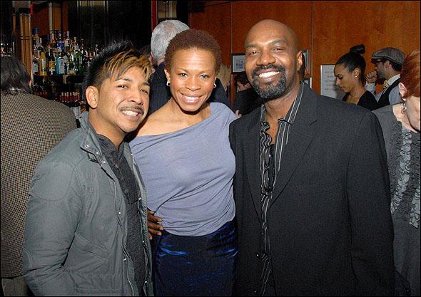 Arcel Cabuag, Bahiyah Hibah and Ronald K. Brown