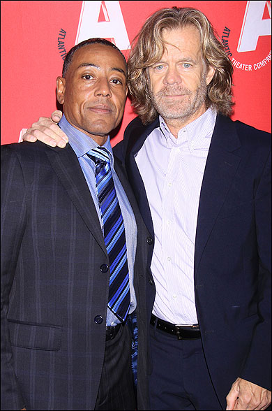 Giancarlo Esposito and William H. Macy