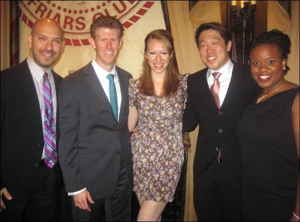 Mat Eisenstein, Mark Ledbetter, Kaitlyn Davidson, Raymond J. Lee and Q. Smith