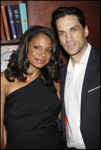Audra McDonald and Will Swenson in an earlier photo.