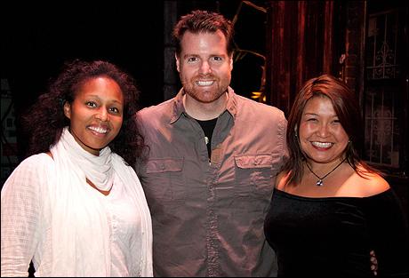 Jasmin Walker, Nicholas Kohn and Hazel Anne Raymundo
