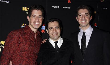 Will Nunziata, Mario Cantone and Anthony Nunziata
