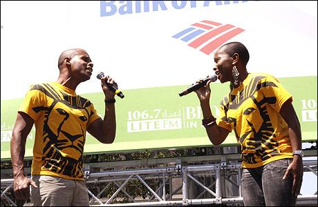 Joel Karie and Selloane Nkhela