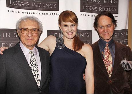 Sheldon Harnick, Kate Baldwin and Steve Ross