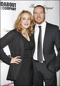 Katie Finneran and Darren Goldstein