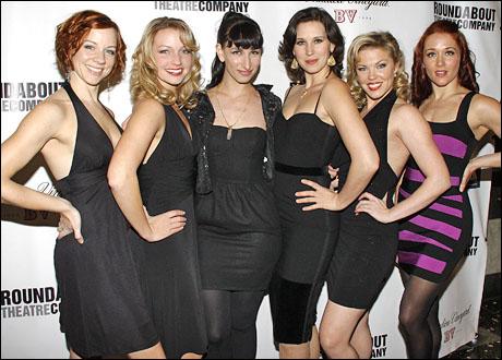 """The Baldwin Girls"": Tonya Wathen, Christina Hedrick, Nikka Graff Lanzarone, Jessica Leigh Brown, Robyn Hurder and Jessica Osborne"