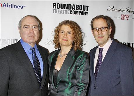Todd Haimes, Julia Levy and Harold Wolpert