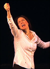 Jennifer Barnhart in <i>The Legend of Julie Taymor</i>