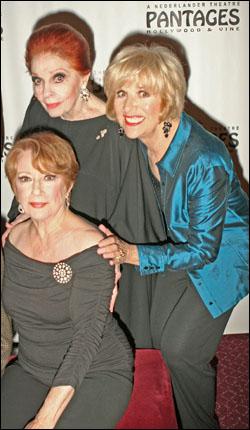 Nancy Dussault, Carole Cooke and Karen Morrow
