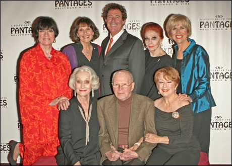 JoAnne Worley, Jane A. Johnston, Eileen Barnett, Barry Williams, Billy Barnes, Carole Cooke, Nancy Dussault and Karen Morrow