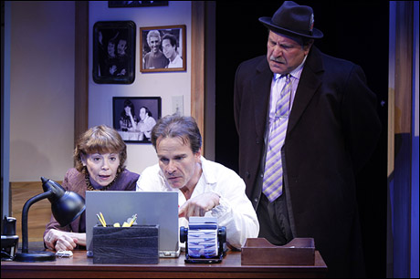 Alice Playten, Peter Scolari and Bob Ari