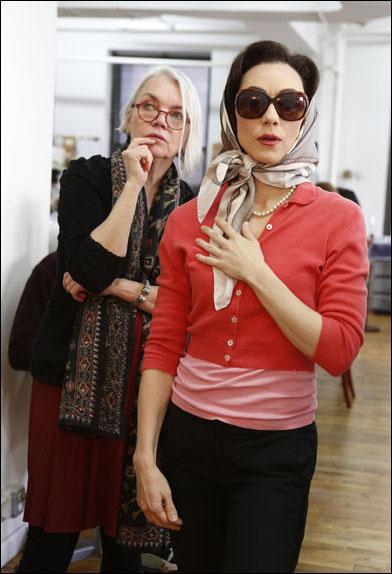 Susan Hilferty and Tina Benko