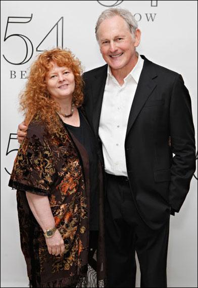 Sarah Rice and Victor Garber