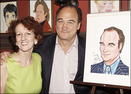 Audrie Neenan and Jim Belushi