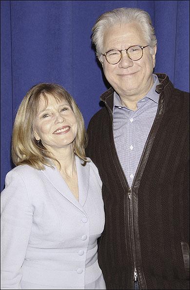 Donna Hanover and John Larroquette