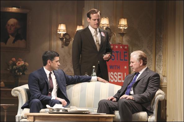 John Stamos, Corey Brill and John Larroquette