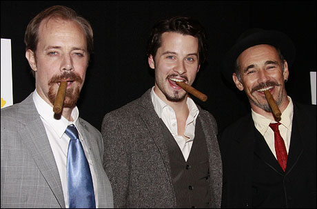 Michael Milligan, Robert Lonsdale and Mark Rylance