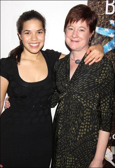 Julie Crosby and America Ferrera