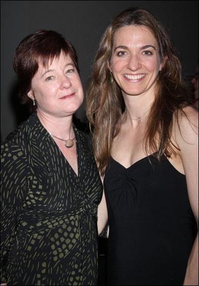 Julie Crosby and Gaye Taylor Upchurch