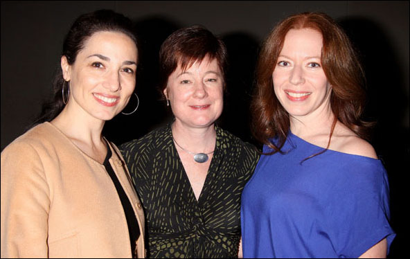 Cassandra Del Viscio, Julie Crosby and Emily Ackerman