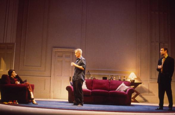 Juliette Binoche, John Slattery, and Liev Schreiber