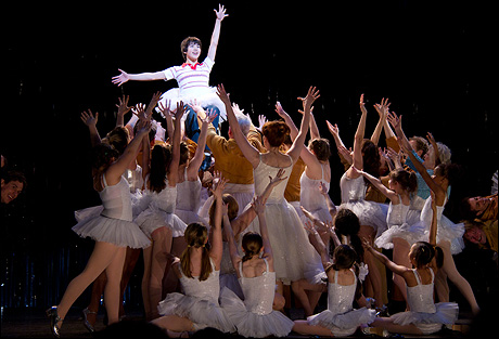 The cast of Billy Elliot
