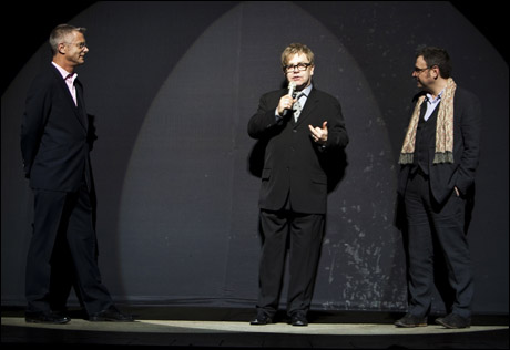 Billy Elliot creators Stephen Daldry, Elton John and Lee Hall