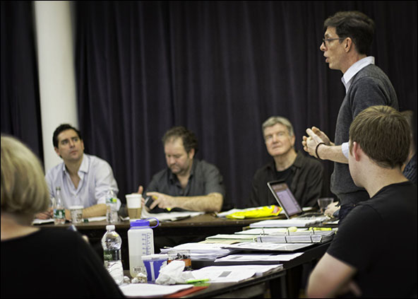 Todd Gearhart, Ron McClary, James Prendergast and Scott Alan  Evans