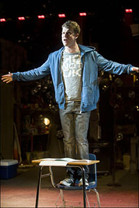 Jason Hite in Joe Iconis' <i>The Black Suits</i>.