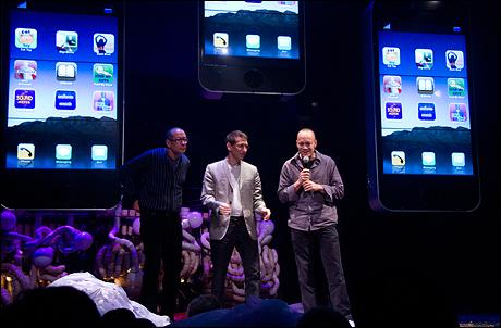 Phil Stanton, Matt Goldman and Chris Wink