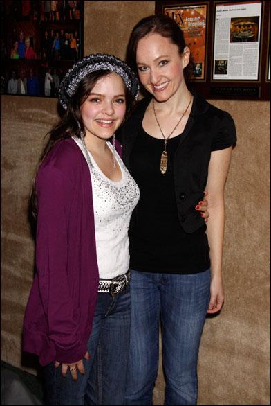Kelsey Fowler and Melissa van der Schyff