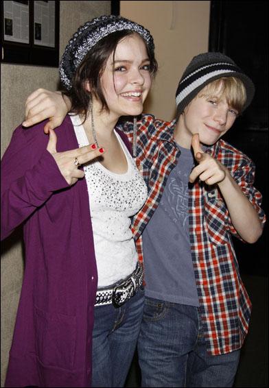 Kelsey Fowler and Talon Ackerman