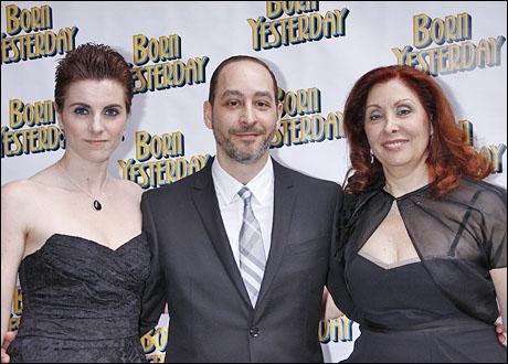 Victoria Caruso, Vincent Caruso and Anne Caruso