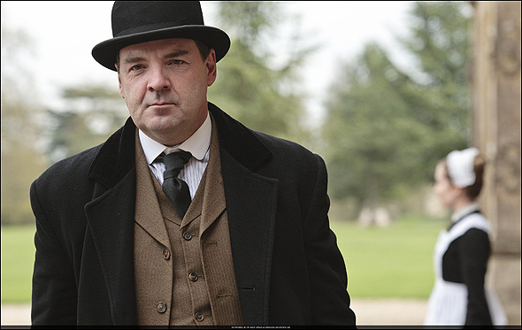 "Brendan Coyle, Outstanding Supporting Actor in a Drama Series Nominee as ""John Bates"" in Downton Abbey."