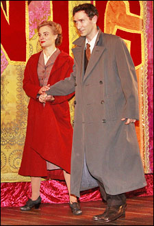 Hannah Yelland and Tristan Sturrock