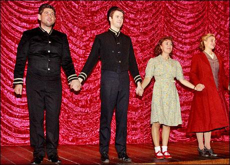 Edward Jay, Adam Pleeth, Dorothy Atkinson and Hannah Yelland